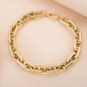 COPY - Gold Tone Hollow Out Chain Necklace